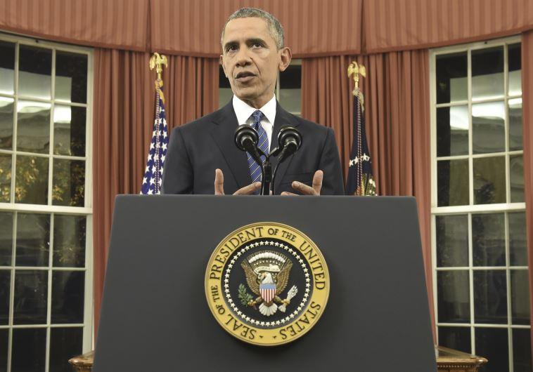"""מתנגד ל""""מגפיים על"""", הנשיא ברק אובמה. צילום: רויטרס"""