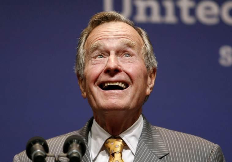 ג'ורג' בוש האב. רויטרס