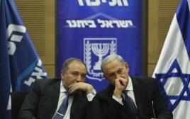 ראש הממשלה בנימין נתניהו ושר החוץ אביגדור ליברמן