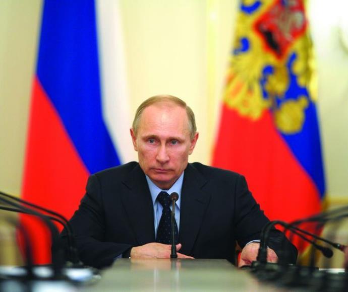 ולדימיר פוטין נשיא רוסיה