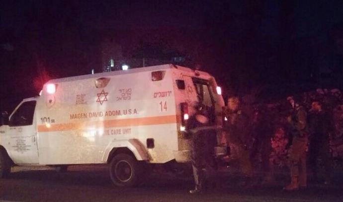 פיגוע דריסה בגוש עציון חיילים נפצעו 5.11.14