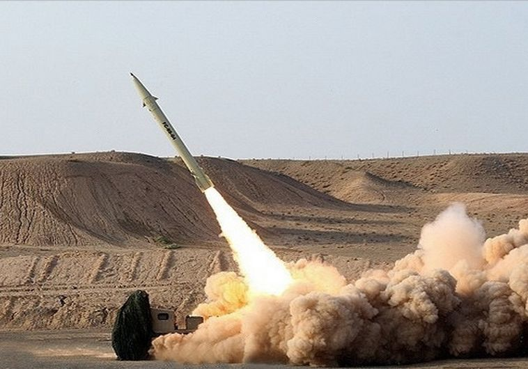טיל בליסטי איראני. צילום: סוכנות פארס