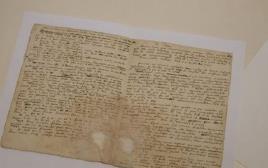 כתב היד של אייזק ניוטון