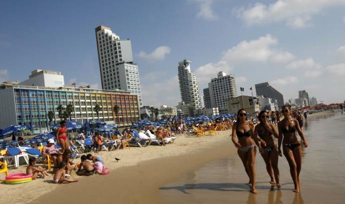 חוף הים של תל אביב