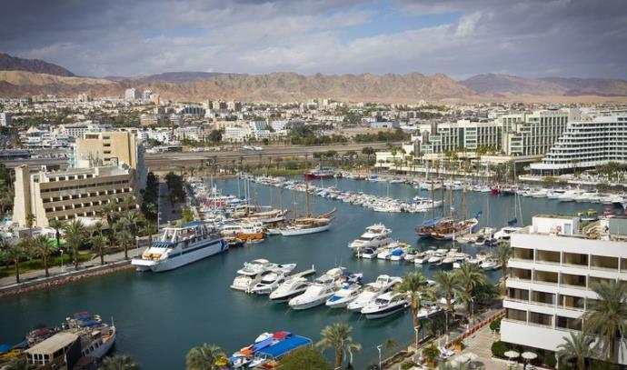 אילת תיירות בתי מלון מרינה