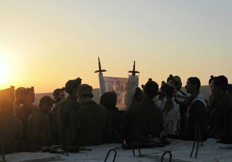 """גדוד נצח יהודה. צילום: דובר צה""""ל"""