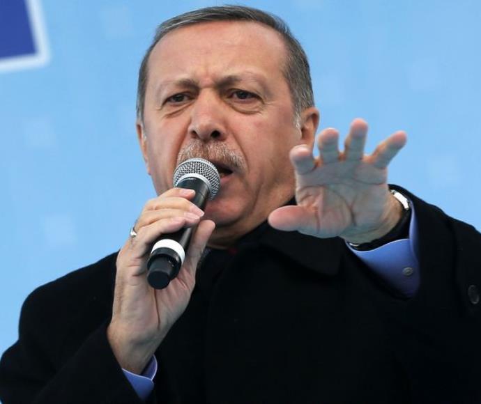 נשיא טורקיה רג'יפ ארדואן
