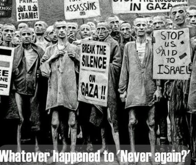 אסירים במחנה ריכוז, תעמולה נגד ישראל