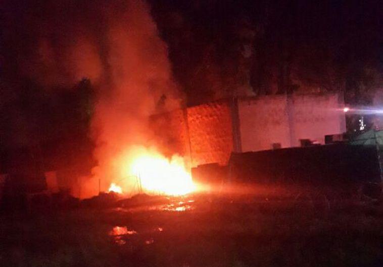 השריפה בבסיס סירקין