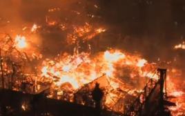 שריפה בלוס אנג'לס