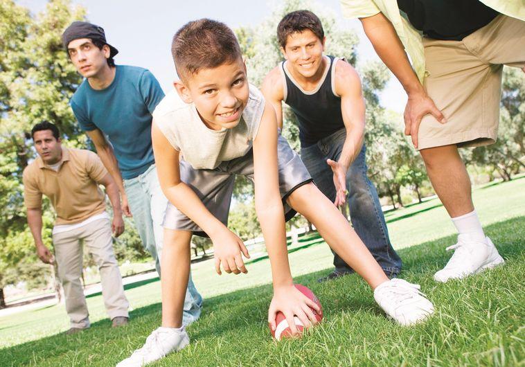 אילוסטרציה: ילדים משחקים