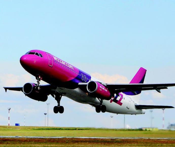 מטוס של חברת וויזאיר