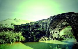 גשר מעל נהר הירדן