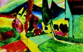 ציור של וסילי קנדינסקי משנת 1912