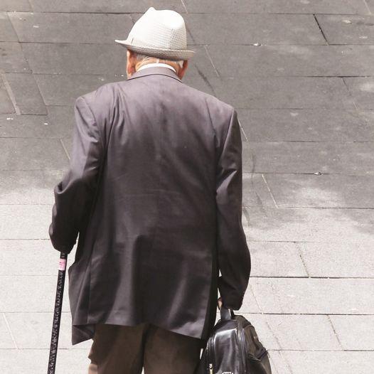קשיש. צילום: נתי שוחט, פלאש 90