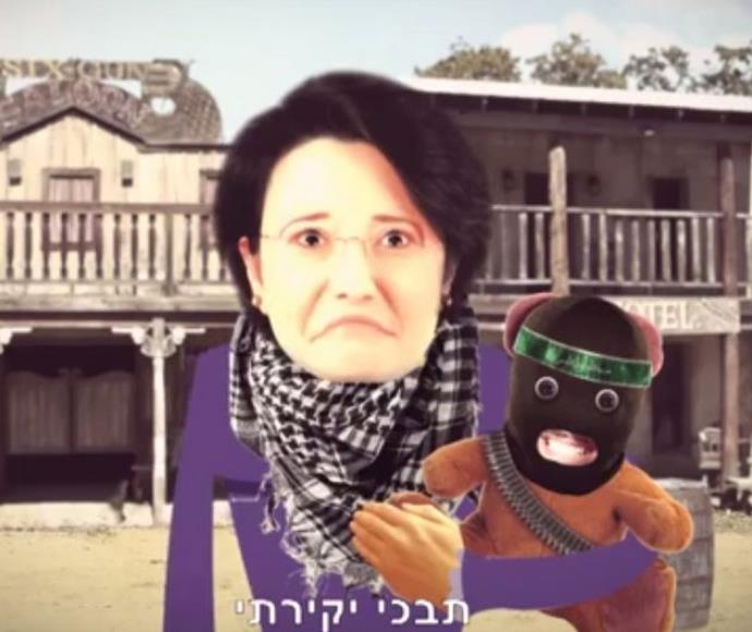 סרטון של דני דנון נגד חנין זועבי