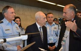 דנינו ופרס בכנס החדשנות של משטרת ישראל