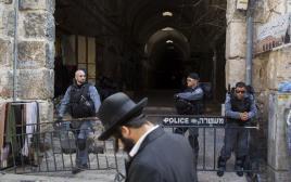 """שוטרי מג""""ב בעיר העתיקה, ארכיון"""