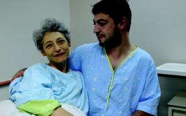 טטיאנה דובינטקייה ובנה