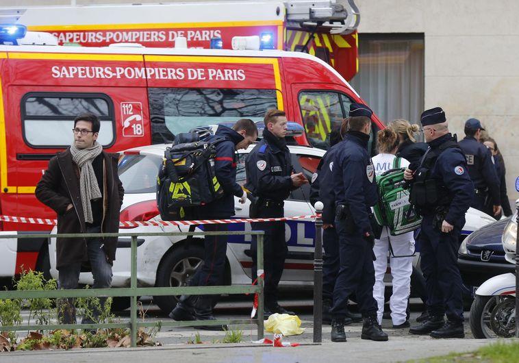 זירת הפיגוע בפריז