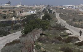 הגבול ברפיח, בין עזה ומצרים