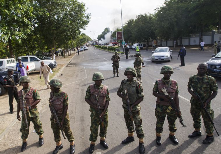 לא מביעים עניין בחוזים עם ישראל, צבא ניגריה. צילום: רויוטרס