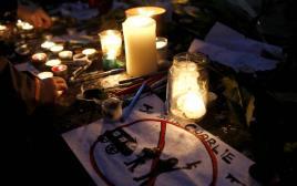 עצרת לזכר ההרוגים בפיגועים בצרפת