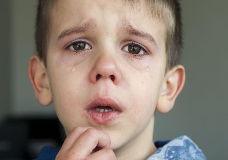 ילד בוכה: אילוסטרציה