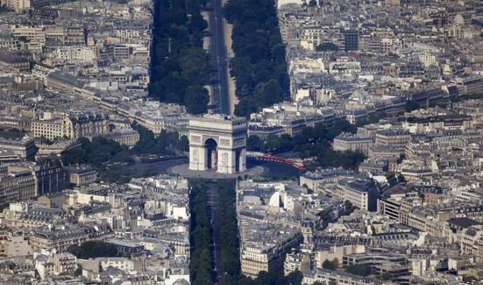 פריז - מבט מלמעלה