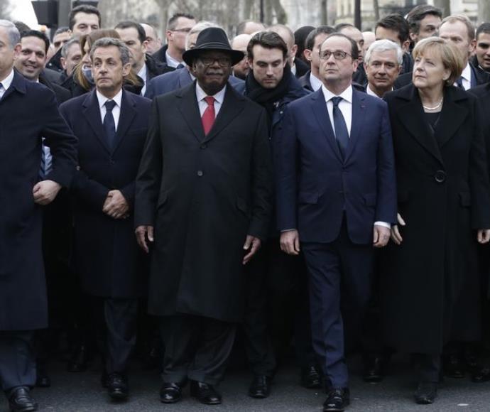 מנהיגי העולם בעצרת בפריז