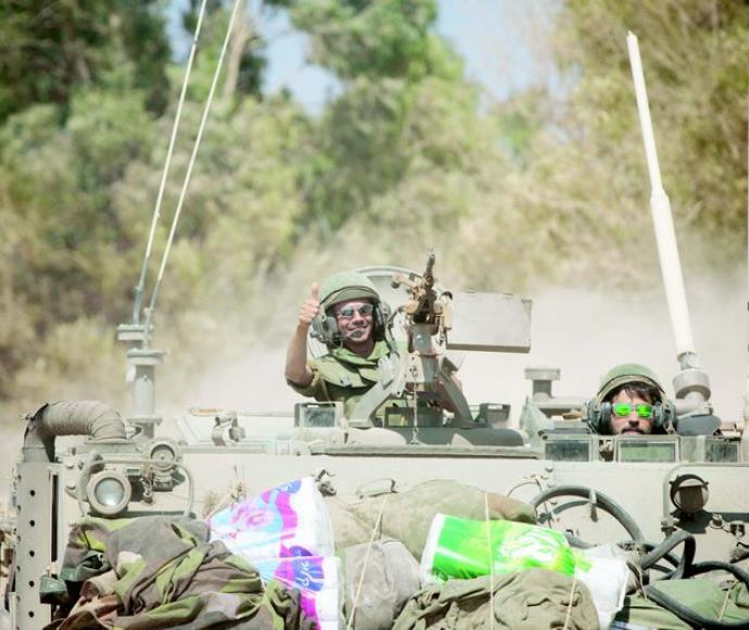 חיילים לאחר צוק איתן