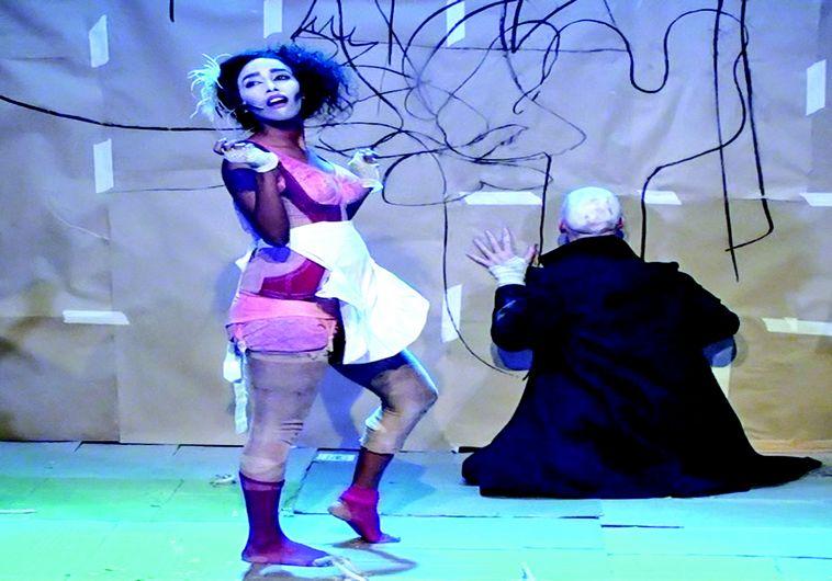תמונה מתוך ההצגה קברכט