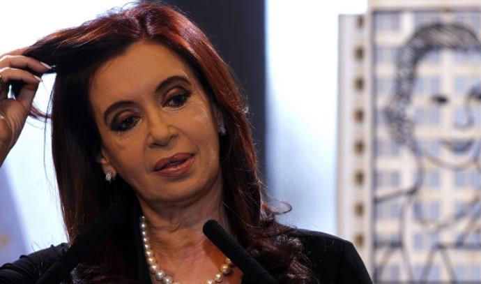 נשיאת ארגנטינה כריסטינה פרננדז