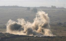 הפצצה סמוך למעבר קונייטרה. אילוסטרציה