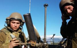 חיילים בגבול הצפון