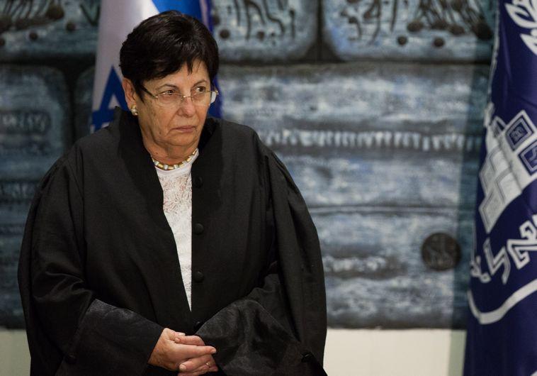השופטת מרים נאור. צילום: פלאש 90