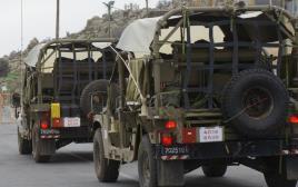 רכב צבאי בצפון