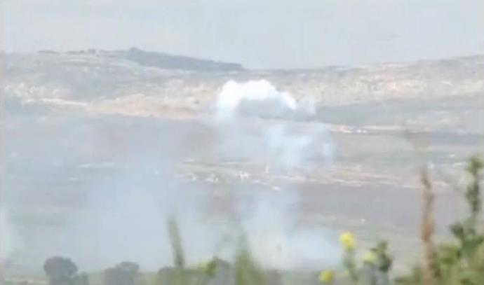 עשן וירי בצפון, גבול לבנון