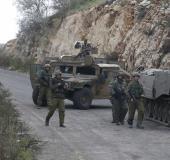 """חיילי צה""""ל בגבול לבנון"""