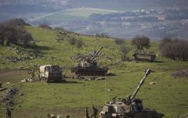 תותחים יורים לעבר לבנון, אתמול