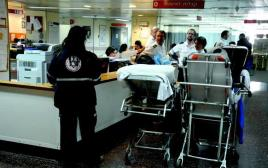 חדר מיון בבית חולים. למצולמים אין קשר לכתבה