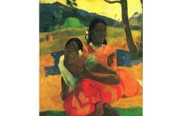 """הציור """"מתי תינשאי"""" של פול גוגן"""