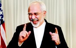 שר החוץ האיראני זריף