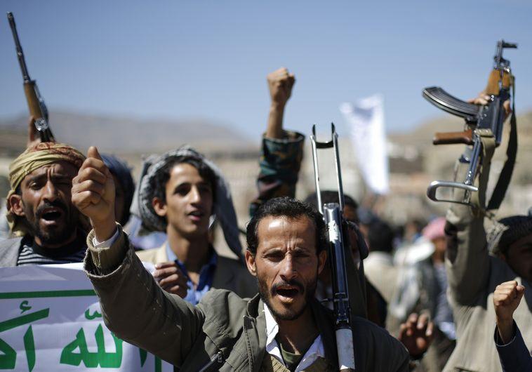 המורדים החות'ים בתימן. צילום: רויטרס
