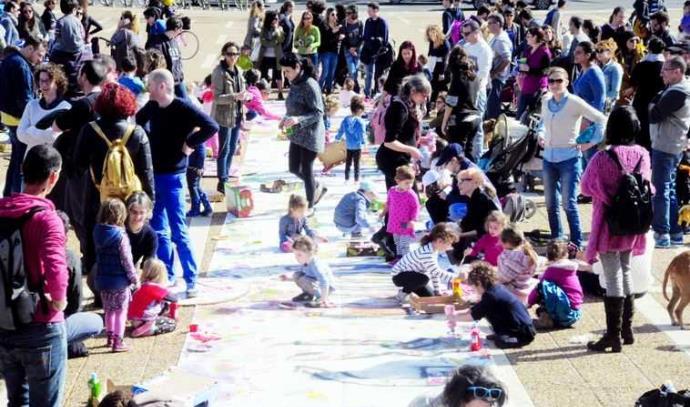 מחאת ההורים בתל אביב