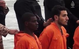 שבויי דאעש לפני המוות