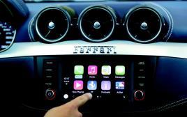 מערכת השמע לרכב של אפל
