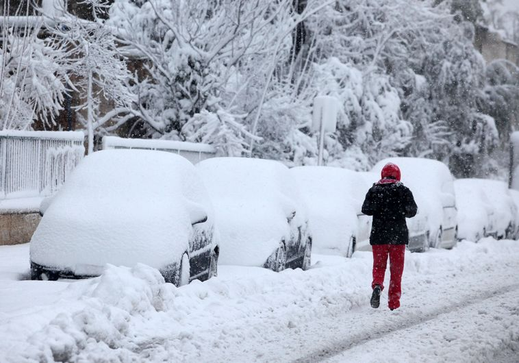 תחזיות לשלג בירושלים (צילום: מרק ישראל סלם)