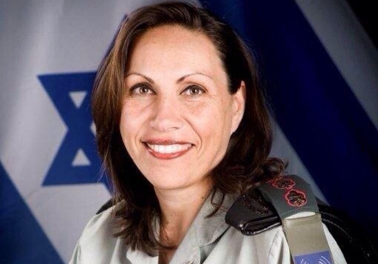 """הצנזורית הראשית, אריאלה בן אברהם. צילום: דובר צה""""ל"""