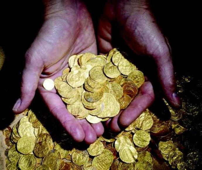 המטבעות שנחשפו